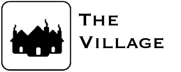 Village icon with text